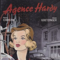 Cómics: AGENCE HARDY. EN FRANCÉS. Lote 170360580