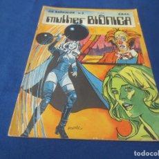 Cómics: OS BIÔNICOS N.º 3 - MULHER BIÔNICA - EDITORA BRASIL-AMERICA (EBAL) 1979 - -- EM PORTUGUÊS --. Lote 170485700