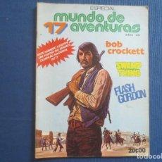 Cómics: MUNDO DE AVENTURAS ESPECIAL N.º 17 / ANO I / 1977 -- EM PORTUGUÊS -- EN PORTUGUÉS -- MUITO ESQUISITO. Lote 170494120