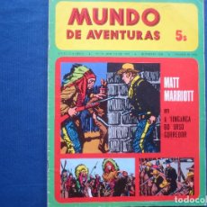 Cómics: MUNDO DE AVENTURAS N.º 17 / 1974 SÉRIE V -- EM PORTUGUÊS -- AGÊNCIA PORTUGUESA DE REVISTAS. Lote 170496864