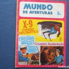 Cómics: MUNDO DE AVENTURAS N.º 43 / 1974 SÉRIE V -- EM PORTUGUÊS -- AGÊNCIA PORTUGUESA DE REVISTAS. Lote 170498392