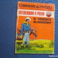 Cómics: CORRIERE DEI PICCOLI N.º 29 / ANNO LXII / 1970 - SETTIMANALE DEI RAGAZZI ITALIANI -- IN ITALIANO --. Lote 170501716
