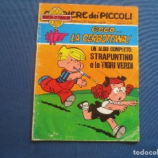 Cómics: CORRIERE DEI PICCOLI N.º 35 / ANNO LXII / 1970 - SETTIMANALE DEI RAGAZZI ITALIANI -- IN ITALIANO --. Lote 170502764