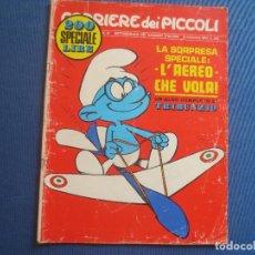 Cómics: CORRIERE DEI PICCOLI N.º 37 / ANNO LXII / 1970 - SETTIMANALE DEI RAGAZZI ITALIANI -- IN ITALIANO --. Lote 170503212