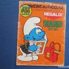 Cómics: CORRIERE DEI PICCOLI N.º 39 / ANNO LXII / 1970 - SETTIMANALE DEI RAGAZZI ITALIANI -- IN ITALIANO --. Lote 170504496