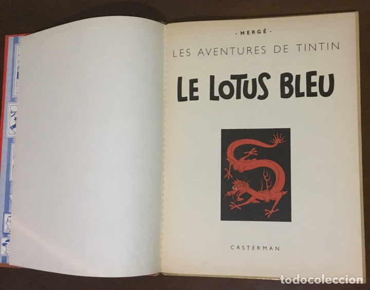 Cómics: Tintín - Le lotus bleu 1946 - Foto 4 - 170905824