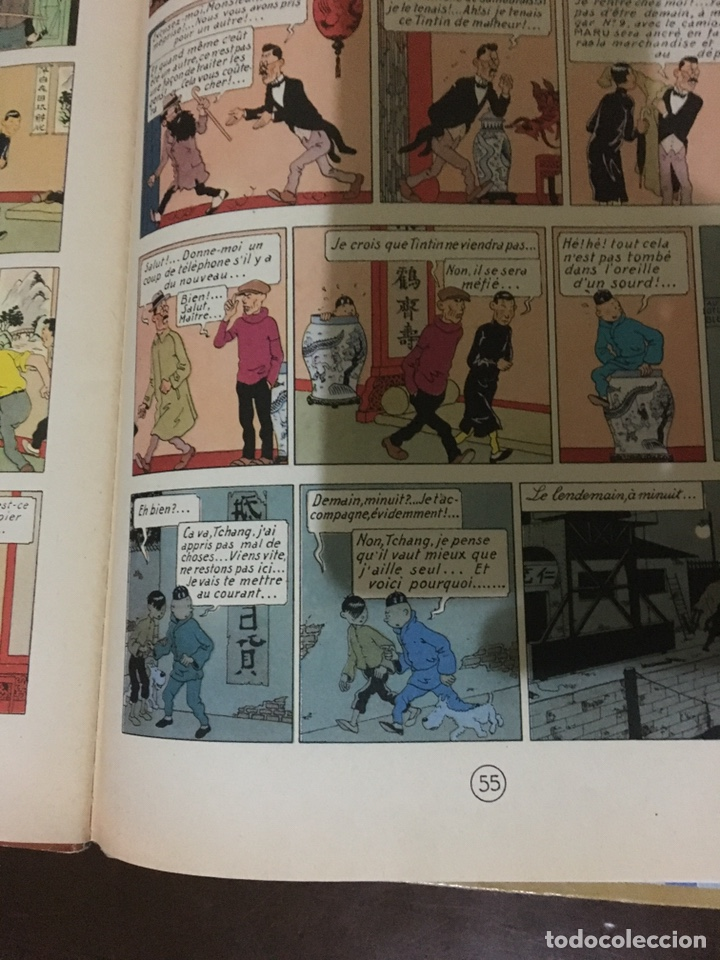Cómics: Tintín - Le lotus bleu 1946 - Foto 10 - 170905824