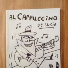 Cómics: ''AL CAPPUCCINO'' DIBUJO Y PORTADA ORIGINAL REALIZADA A MANO / ARTE CÓMIC ILUSTRACIÓN. Lote 171037893