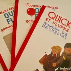 Cómics: QUICK ET FLUPKE GAMINS DE BRUXELLES 2011-HERGÉ-TINTIN-CASTERMAN- QUIQUE Y FLUPI-NUEVOS. Lote 171062542