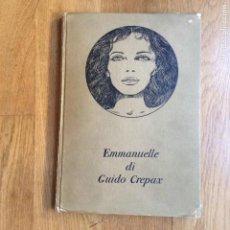 Cómics: EMMANUELLE DI GUIDO CREPEX OLYMPIA PRESS ITALIA . Lote 171261338