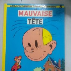 Cómics: SPIROU Y FANTASIO-LA MAUVAISE TETE-Nº8-FRANCES-EDITORIAL DUPUIS-TAPA DURA. Lote 171699393