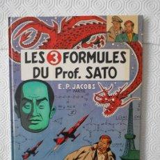 Cómics: LES 3 FORMULES DU PROF. SATO. E. P. JACOBS. COMIC EN FRANCES. TAPA DURA. COLOR. 48 PAGINAS. 1ª PARTE. Lote 172298859
