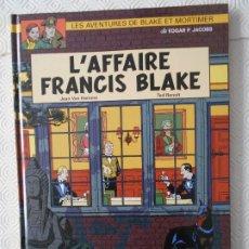 Cómics: L'AFFAIRE FRANCIS BLAKE. LES AVENTURES DE BLAKE ET MORTIMER. DE EDGAR P. JACOBS. JEAN VAN HAMME - TE. Lote 172299545