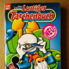 Cómics: LUSTIGES TASCHENBUCH LTB N°387: IM LESEFIEBER (EGMONT EHAPA VERLAG GMBH/DISNEY, 2009). PATO DONALD.. Lote 172353382