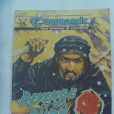 Cómics: COMANDO , HISTORIAS DE GUERRA , WAR STORIES : REVENGE OF THE RUBY ... 1982 , EN INGLES. Lote 173469320