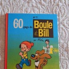 Cómics: BOULE ET BILL - 60 GAGS N. 1. Lote 174021063