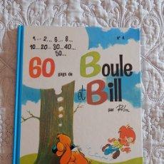 Cómics: BOULE ET BILL - 60 GAGS N. 4. Lote 174021143