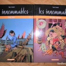 Cómics: LES INNOMMABLES YANN ET CONRAD 4 Y 5 DARGAUD 1995 TAPA DURA EN FRANCÉS LOTE 2. Lote 175646220