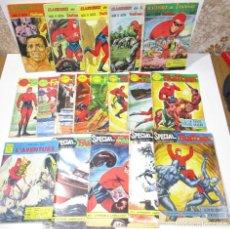 Cómics: LOTE 18 COMICS FANTOME, PHANTOM, EL HOMBRE ENMASCARADO, EN FRANCÉS, AÑOS 60. Lote 176517992