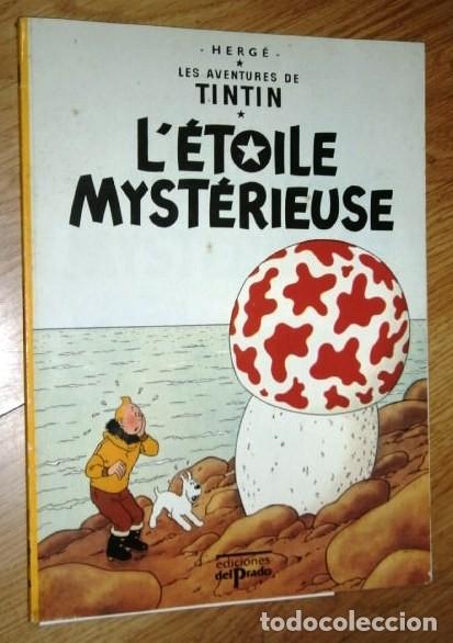 LÉTOILE MYSTÉRIEUSE / TINTÍN POR HERGÉ DE ED. DEL PRADO CASTERMAN EN BÉLGICA 1974 (IDIOMA FRANCÉS) (Tebeos y Comics - Comics Lengua Extranjera - Comics Europeos)