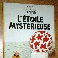 Cómics: L'ÉTOILE MYSTÉRIEUSE / TINTÍN POR HERGÉ DE ED. DEL PRADO CASTERMAN EN BÉLGICA 1974 (IDIOMA FRANCÉS). Lote 175780053