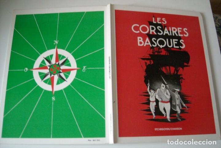 Cómics: LES CORSAIRES BASQIUES - ETCHEGOYEN / CHANSON - Foto 3 - 176647388