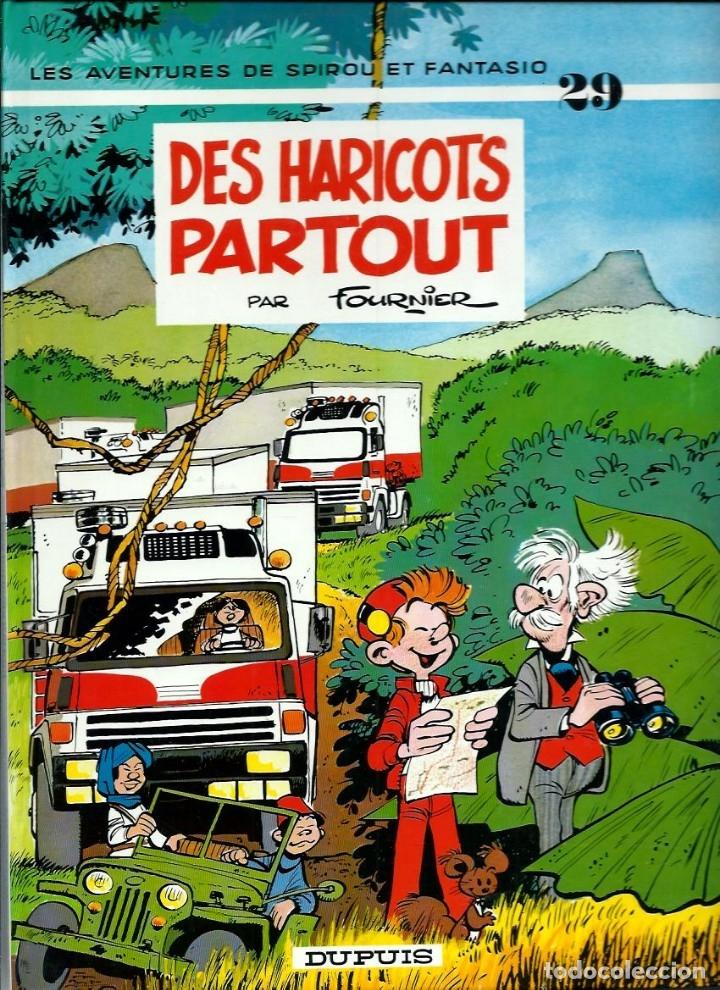FOURNIER - SPIROU ET FANTASIO Nº 29 - DES HARICOTS PARTOUT - DUPUIS 1993 - MUY BIEN CONSERVADO (Tebeos y Comics - Comics Lengua Extranjera - Comics Europeos)