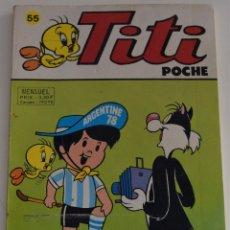 Cómics: TITI POCHE (FRANCES) - Nº 55. Lote 176928278