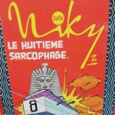 Cómics: NIKY. LE HUITIEME SARCOPHAGE. . Lote 177180793