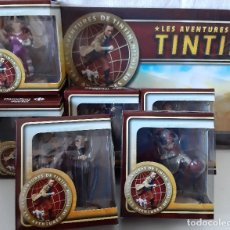 Cómics: 6 FIGURAS AVENTURAS DE TINTIN. Lote 177322903