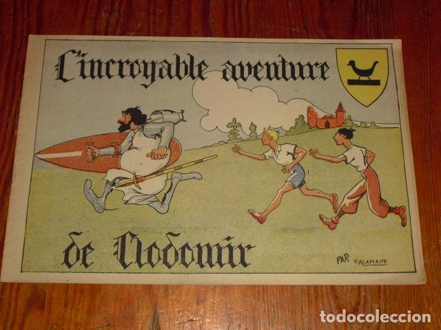Cómics: L' INCROYABLE AVENTURE DE CLODOMIR Y LA FORÊT ENCHANTÉE 1950-60 - Foto 2 - 177734443