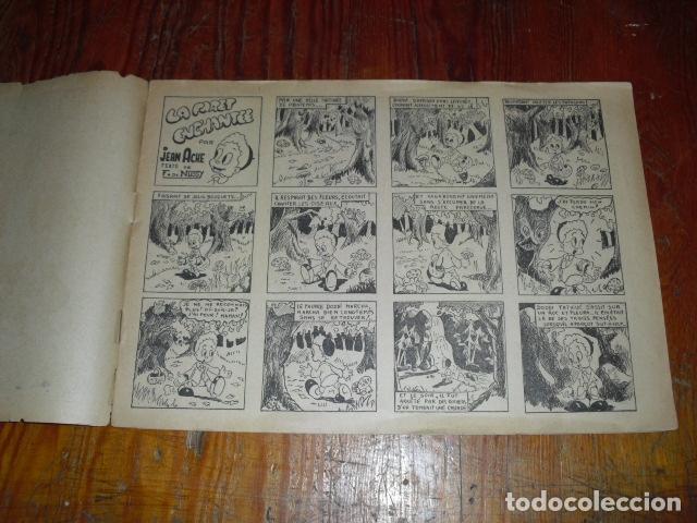 Cómics: L' INCROYABLE AVENTURE DE CLODOMIR Y LA FORÊT ENCHANTÉE 1950-60 - Foto 3 - 177734443