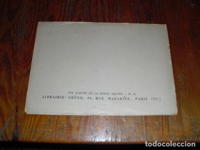 Cómics: L' INCROYABLE AVENTURE DE CLODOMIR Y LA FORÊT ENCHANTÉE 1950-60 - Foto 4 - 177734443