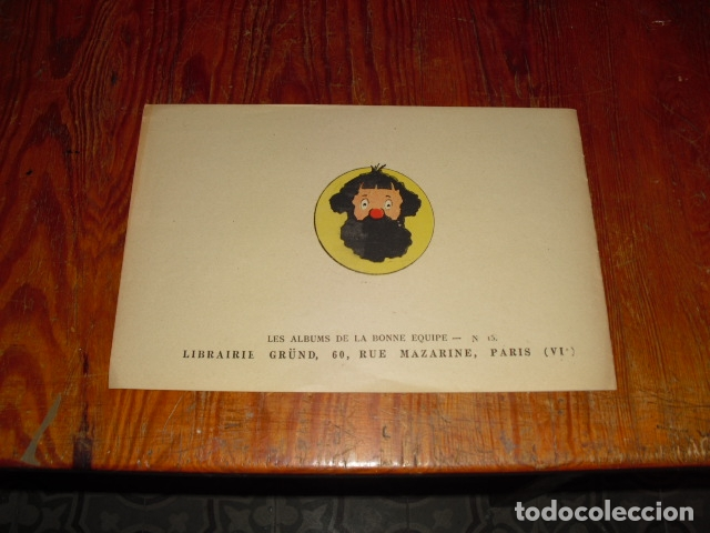 Cómics: L' INCROYABLE AVENTURE DE CLODOMIR Y LA FORÊT ENCHANTÉE 1950-60 - Foto 9 - 177734443