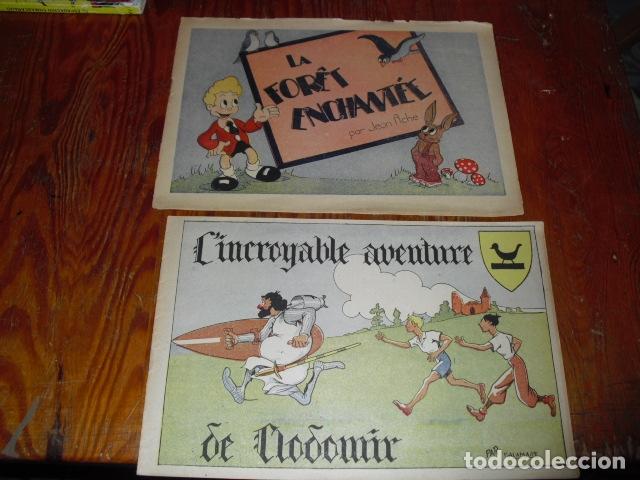 L' INCROYABLE AVENTURE DE CLODOMIR Y LA FORÊT ENCHANTÉE 1950-60 (Tebeos y Comics - Comics Lengua Extranjera - Comics Europeos)