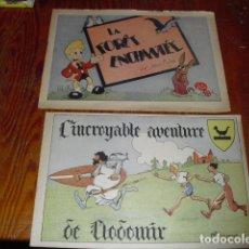 Cómics: L' INCROYABLE AVENTURE DE CLODOMIR Y LA FORÊT ENCHANTÉE 1950-60. Lote 177734443