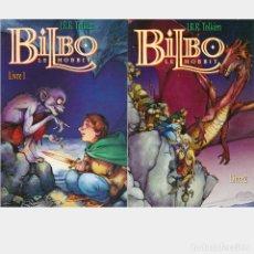 Cómics: BILBO LE HOBBIT. BILBO EL HOBBIT EN FRANCES. TOMOS 1 Y 2. COMPLETO. COL. GLENAT USA. Lote 179153573