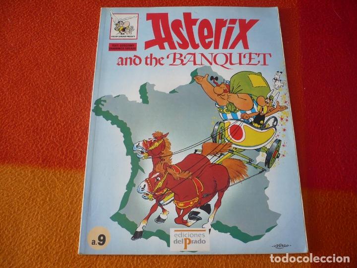 ASTERIX AND THE BANQUET Nº 9 ( EN INGLES ) ( GOSCINNY UDERZO ) ¡BUEN ESTADO! EDICIONES EL PRADO (Tebeos y Comics - Comics Lengua Extranjera - Comics Europeos)