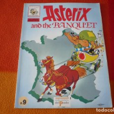 Cómics: ASTERIX AND THE BANQUET Nº 9 ( EN INGLES ) ( GOSCINNY UDERZO ) ¡BUEN ESTADO! EDICIONES EL PRADO. Lote 179254276