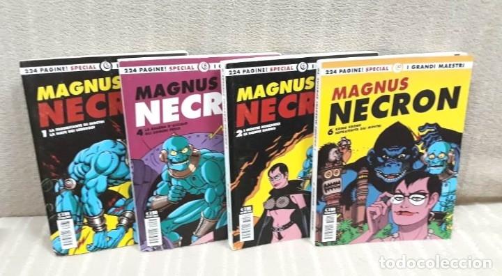 MAGNUS: NECRON - LOTE DE 4 TOMOS (EDICIÓN ITALIANA) (Tebeos y Comics - Comics Lengua Extranjera - Comics Europeos)
