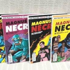 Cómics: MAGNUS: NECRON - LOTE DE 4 TOMOS (EDICIÓN ITALIANA). Lote 179548818