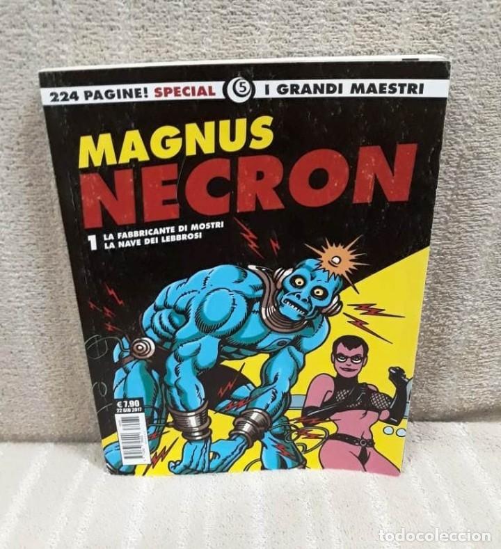 Cómics: MAGNUS: NECRON - LOTE DE 4 TOMOS (EDICIÓN ITALIANA) - Foto 2 - 179548818