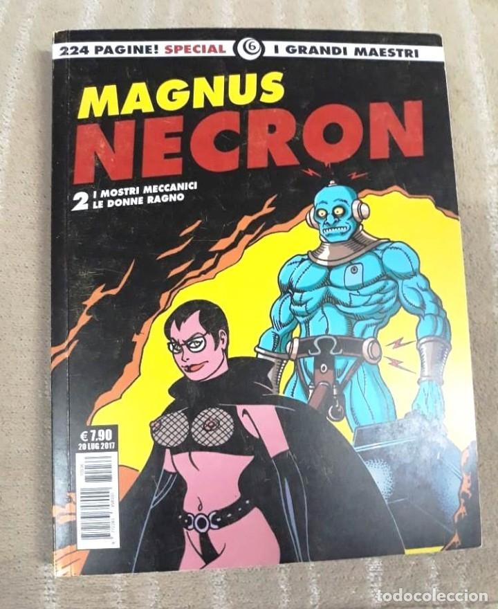 Cómics: MAGNUS: NECRON - LOTE DE 4 TOMOS (EDICIÓN ITALIANA) - Foto 3 - 179548818