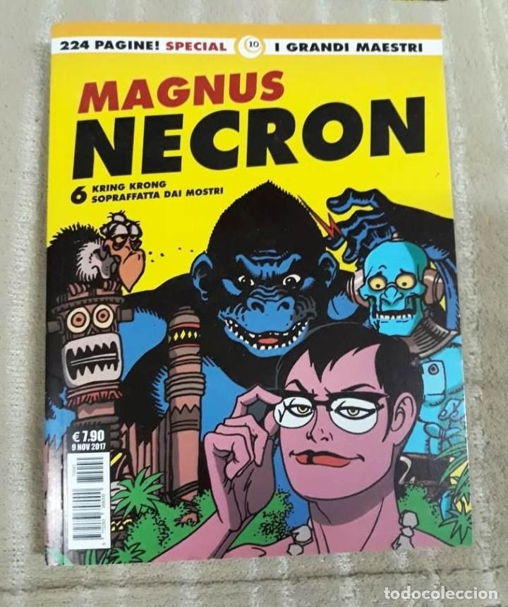 Cómics: MAGNUS: NECRON - LOTE DE 4 TOMOS (EDICIÓN ITALIANA) - Foto 4 - 179548818