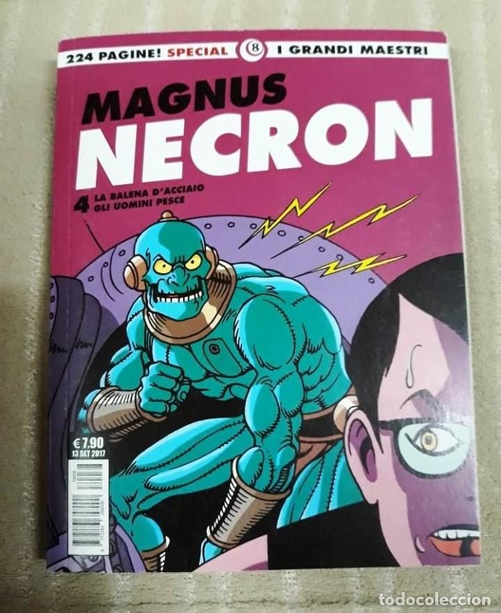 Cómics: MAGNUS: NECRON - LOTE DE 4 TOMOS (EDICIÓN ITALIANA) - Foto 5 - 179548818