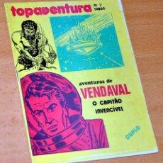 Cómics: VENDAVAL, EL CAPITÁN INVENCIBLE - DE ANTONIO BERNAL - EDITADO EN PORTUGAL. Lote 180396758