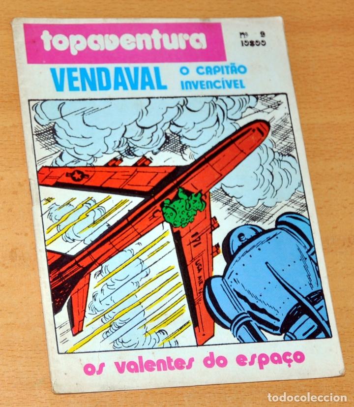 VENDAVAL, EL CAPITÁN INVENCIBLE - DE ANTONIO BERNAL Y VÍCTOR MORA - EDITADO EN PORTUGAL (Tebeos y Comics - Comics Lengua Extranjera - Comics Europeos)