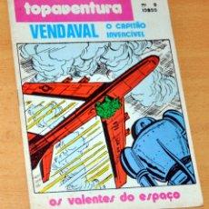 Cómics: VENDAVAL, EL CAPITÁN INVENCIBLE - DE ANTONIO BERNAL Y VÍCTOR MORA - EDITADO EN PORTUGAL. Lote 180397005
