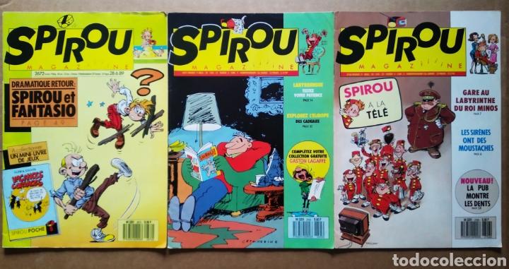 Cómics: Lote Spirou Magazine, números 2558-2586-2630-2650-2658-2669-2672-2695-2706 (Dupuis, 1987-1990). - Foto 3 - 181761501