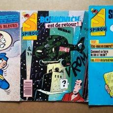 Cómics: LOTE SPIROU MAGAZINE, NÚMEROS 2558-2586-2630-2650-2658-2669-2672-2695-2706 (DUPUIS, 1987-1990).. Lote 181761501